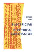 Career As an Electrician Electrical Contractor