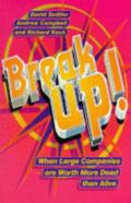 Break Up!: Compact Edition: When Large Companies are Worth More Dead Than Alive
