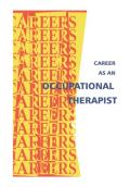 Career As an Occupational Therapist