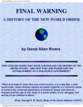 Final Warning: A History of the New World Order