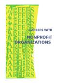 Careers With Nonprofit Organizations