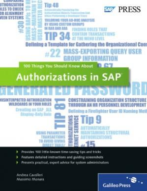 书籍封面 Authorizations in SAP