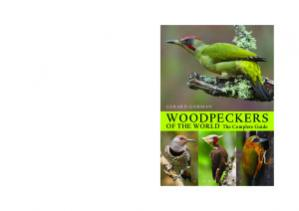 Book cover Woodpeckers of the World. The Complete Guide