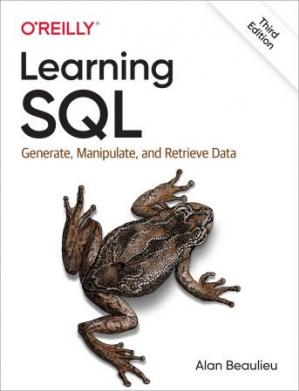 Обложка книги Learning SQL: Generate, Manipulate, and Retrieve Data
