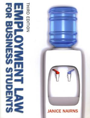 पुस्तक कवर Employment Law for Business Students (UK edition)