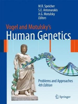 Copertina Vogel and Motulsky's Human Genetics
