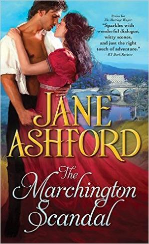 Book cover The Marchington Scandal