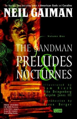 Book cover The Sandman Vol. 1: Preludes and Nocturnes (Issues 1-8)