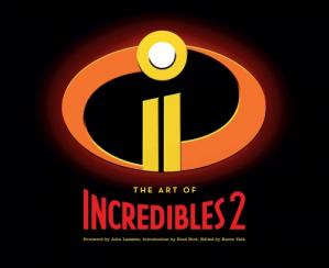 Book cover The art of Incredibles 2