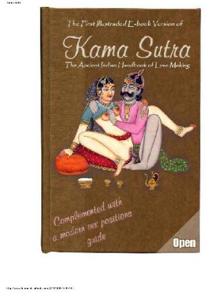 Couverture du livre Kama Sutra first illustrated e-book version