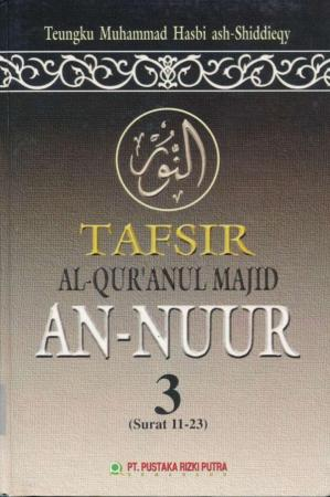 Book cover Tafsir An-Nuur 3