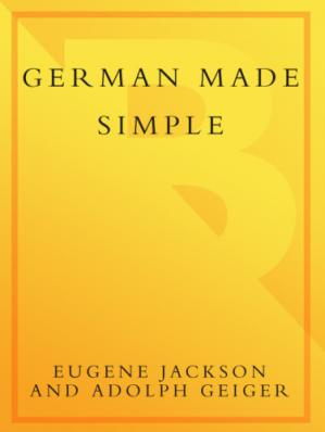 Buchdeckel German Made Simple: Learn to Speak and Understand German Quickly and Easily