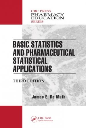 Sampul buku Basic statistics and pharmaceutical statistical applications
