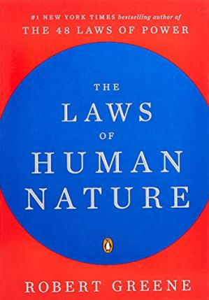 Sampul buku The Laws of Human Nature