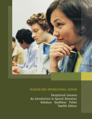 Book cover Exceptional Learners: Introduction to Special Education