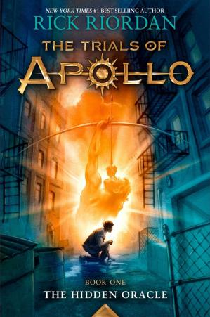 Book cover The Trials of Apollo Book One The Hidden Oracle