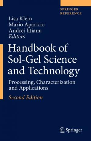 पुस्तक कवर Handbook of Sol-Gel Science and Technology