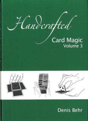 Book cover Handcrafted Card Magic Volume 3