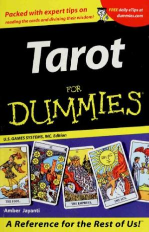 Book cover Tarot for Dummies