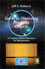 A capa do livro Guide to Observing Deep-Sky Objects: A Complete Global Resource for Astronomers