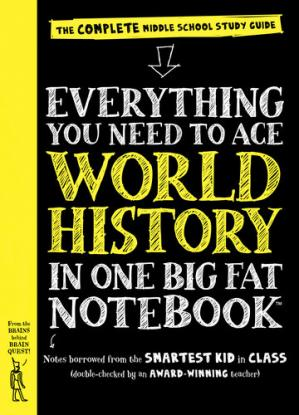 Book cover Everything You Need to Ace World History in One Big Fat Notebook