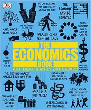 Kitabın üzlüyü The Economics Book (Big Ideas Simply Explained)