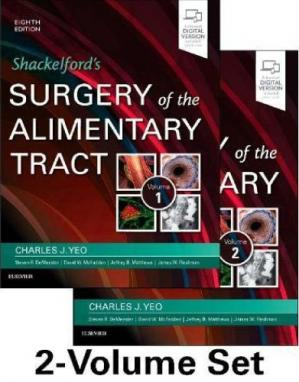 Book cover Shackelford's Surgery of the Alimentary Tract