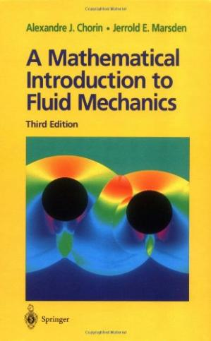 Buchdeckel A Mathematical Introduction to Fluid Mechanics