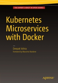 Book cover Kubernetes Microservices with Docker