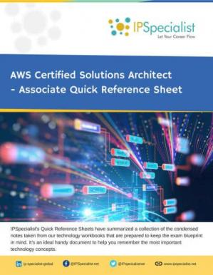 Buchdeckel AWS Certified Solutions Architect - Associate Quick Reference Guide:  Cheat Sheet
