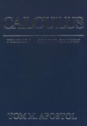 Copertina Calculus, Volume I: One-Variable Calculus, with an Introduction to Linear Algebra