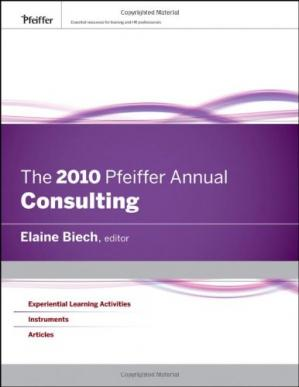 Εξώφυλλο βιβλίου The 2010 Pfeiffer Annual: Consulting (J-B Pfeiffer Annual Looseleaf Vol2)