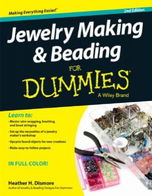Обложка книги Jewelry Making and Beading For Dummies