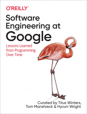 Book cover  Software Engineering at Google