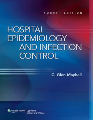 غلاف الكتاب Hospital Epidemiology and Infection Control