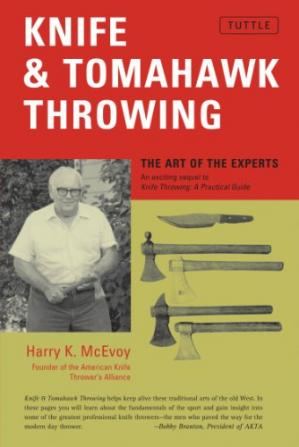 Copertina Knife & Tomahawk Throwing: The Art of the Experts