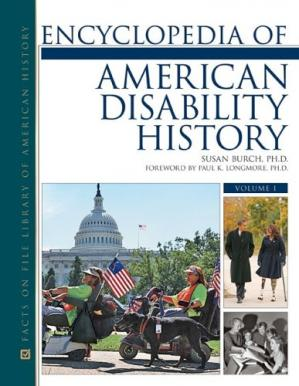 Book cover Encyclopedia of American Disability History (Facts on File Library of American History)