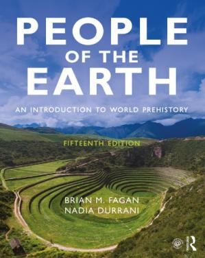La couverture du livre People of the Earth - An Introduction to World Prehistory