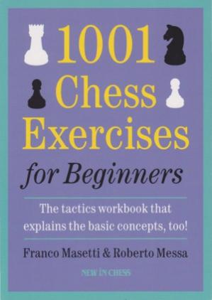 Buchdeckel 1001 Chess Exercises for Beginners