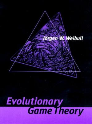 Book cover Evolutionary game theory