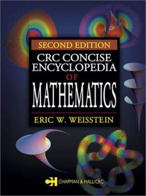 Portada del libro CRC Concise Encyclopedia of Mathematics, Second Edition