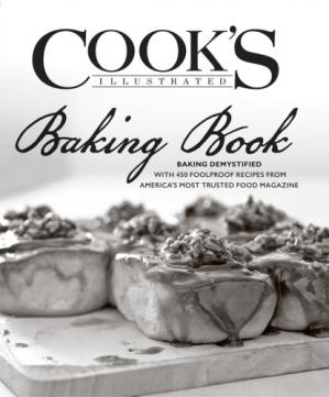 पुस्तक कवर The Cook's Illustrated Baking Book