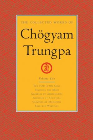 Book cover The Collected Works of Chögyam Trungpa: Volume 2