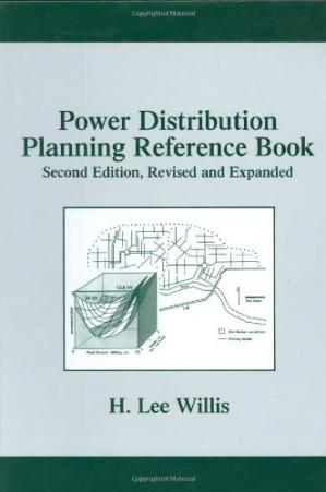 Copertina Power Distribution Planning Reference Book, Second Edition (Power Engineering, 23)