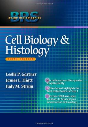 Book cover BRS Cell Biology & Histology, 6th Edition