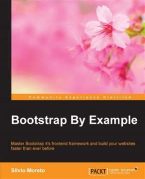 A capa do livro Bootstrap By Example (Code Only)