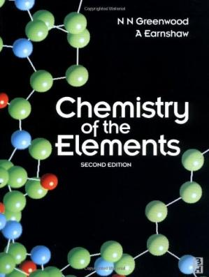 Book cover Chemistry of the Elements