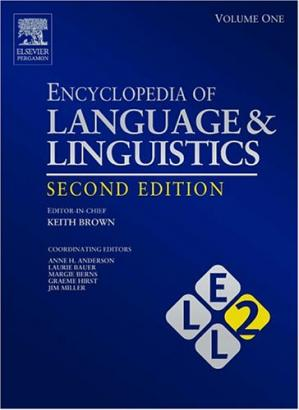书籍封面 Encyclopedia of Language and Linguistics