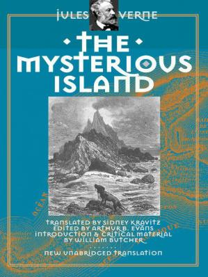 Sampul buku The Mysterious Island #
