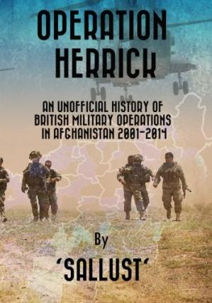 Обложка книги Operation Herrick : an unofficial history of British military operations in Afghanistan 2001-2014
